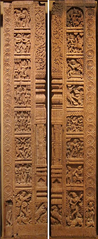 Temple Wall Panels : File wla haa set of two temple wall panels tamil nadu th