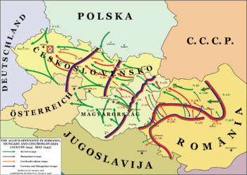 THE ALLIED OFFENSIVE IN ROMANIA, HUNGARY AND C...