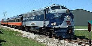 Monticello Railway Museum - Image: Wab F71189