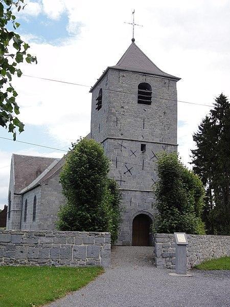 Wallers-en-Fagne (Nord, Fr) église, la tour