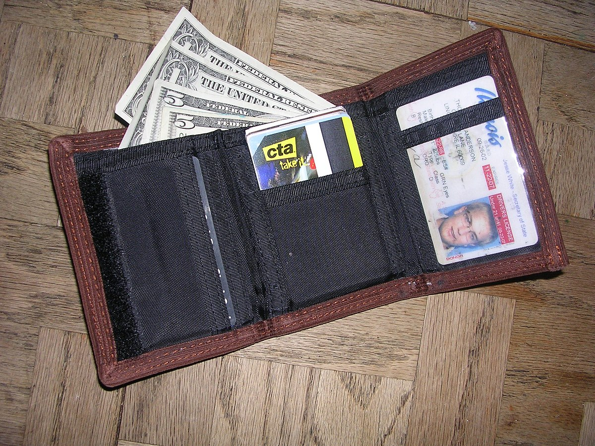 I-CLIP Slim Wallet Black Notes Credit Card Holder Compact Lightweight Flexible