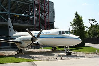Studio Backlot Tour - Walt Disney's private airplane on display