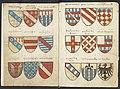 Wapenboek Beyeren (armorial) - KB79K21 - folios 002v (left) and 003r (right).jpg