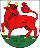 Das Wappen von Luckau