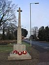 War Memorial, High St, Trumpington (geograph 2188630).jpg