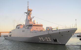 National Bolivarian Armed Forces of Venezuela - Venezuelan patrol ship, ANBV Warao (PC-22)