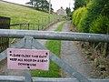 Warning - geograph.org.uk - 525685.jpg