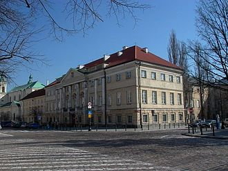 Central Archives of Historical Records - Image: Warszawa palacraczynskich 001