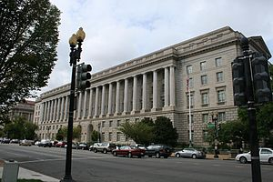 Internal Revenue Service Building - Image: Washington DC national Mall