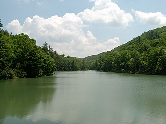 Watoga State Park - Watoga Lake
