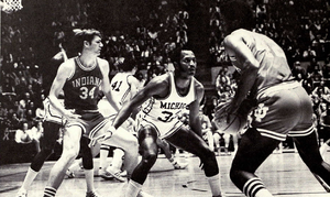 Wayman Britt - Britt from 1975 Michiganensian