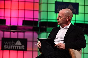 Matthew Freud - Matthew Freud at the 2017 Web Summit, Lisbon