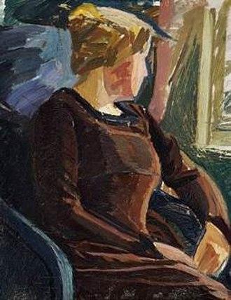 Edvard Weie - Image: Weie Wife