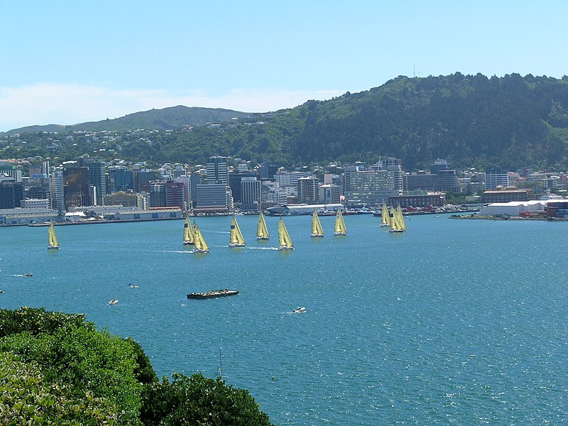 Datei:Wellington-harbour.jpg
