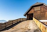 Wernberg Klosterweg Wirtschaftskomplex Stadel-Auffahrt 06122016 5486.jpg