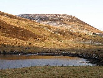 Quarff - Image: West Voe of Quarff geograph.org.uk 1060987