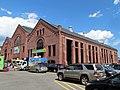 West corner view of former West End Street Railway powerhouse, August 2016.JPG