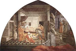Nascita di santo Stefano, Duomo, Prato