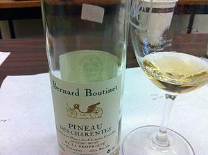 Pineau des Charentes - A white Pineau des Charentes.