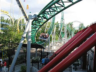 Zierer - Wicked at Lagoon Park, manufactured by Zierer