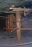 Old winch in the museum