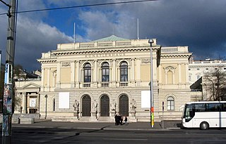 Vienna Künstlerhaus art museum in Austria