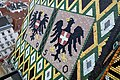 Wien - Stephansdom, Dach, nordseitige Wappen.JPG