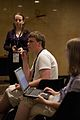 Wikimania 2009 - Questions during BOF- MediaWiki Usability discussion.jpg