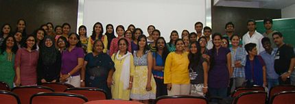 Wikipedia Workshop for Women in Mumbai.JPG