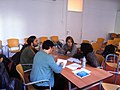 Wikipedia Workshop for library directors at F.Bonnemaison in Barcelona.JPG