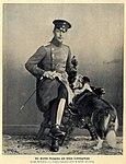 Wilhelm Kronprinz mit seinem Lieblingshund, 1904.jpg