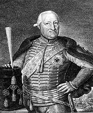 Wilhelm Sebastian von Belling - Belling in 1778–79