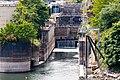 Willamette Falls locks downstream entrance.jpg