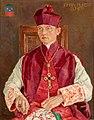 Willem Adolfs - Portret van Johan Hubert (Jobs) Bonjer, wij-bisschop van de Vrij Katholieke Kerk.jpg