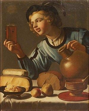 Willem van Honthorst - The Young Drinker
