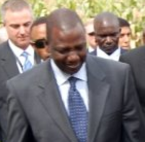 International Criminal Court investigation in Kenya - William Ruto, one of the suspects charged with crimes against humanity