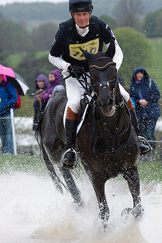 William Fox-Pitt - Image: William Fox Pitt and Before Time at the Ice Pond at Chatsworth 2013