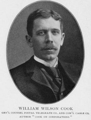 William W. Cook - Image: William W. Cook