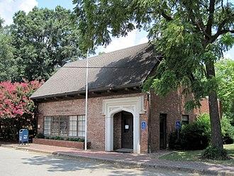 Wilson, Arkansas - Tudor-inspired post office, 2010