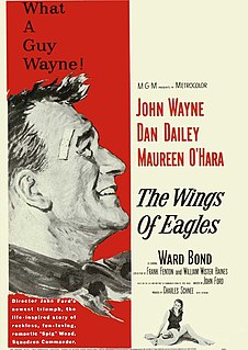 <i>The Wings of Eagles</i> 1957 film by John Ford