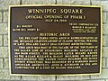 Winnipeg Square official opening plaque.JPG