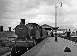 Witham (Somerset) Station, with a train for Yatton geograph-2545301-by-Ben-Brooksbank.jpg