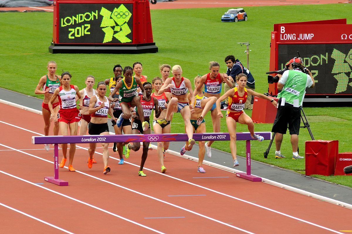 Steeplechase at the olympics wikipedia for Steeplechase
