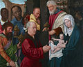 Workshop of Gerard David Adoration of the Magi, ca. 1514. Oil on wood panel, Princeton University Art Museum.jpg