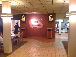 Youngstown State University - Arby's location inside Kilcawley Center. Arby's originated in nearby Boardman in 1964 and maintains a major presence in the Mahoning Valley.