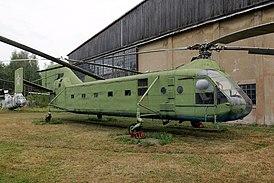 Як-24 в Центральном музее ВВС России в Монино