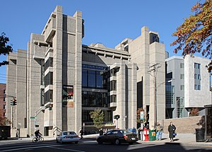Paul Rudolph (architect) - Image: Yale Art and Architecture Building, October 20, 2008