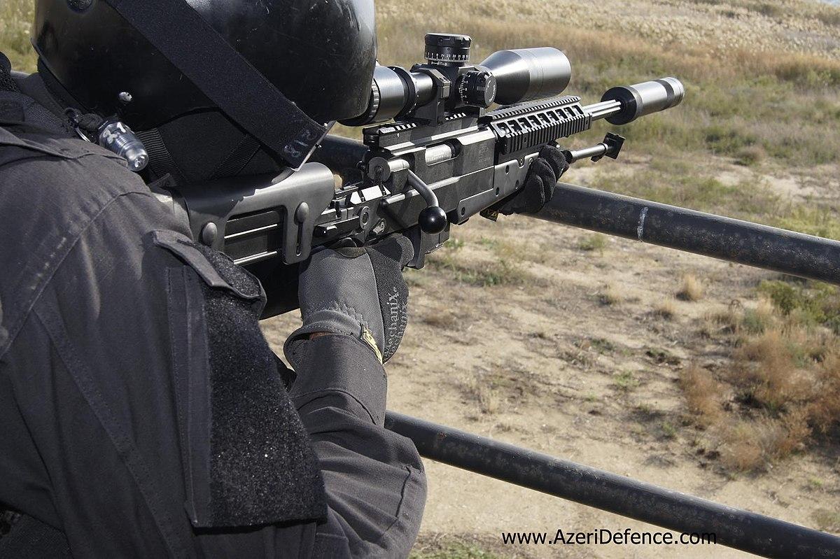 Yalguzag sniper rifle - Wikipedia