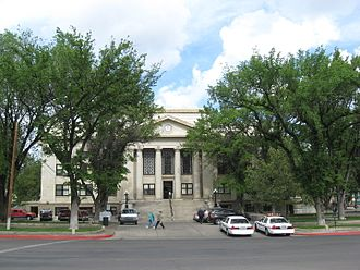 Yavapai County Courthouse - Courthouse in 2008