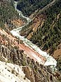 Yellowstone River (Grand Canyon of the Yellowstone, Wyoming, USA) 40 (40723169853).jpg